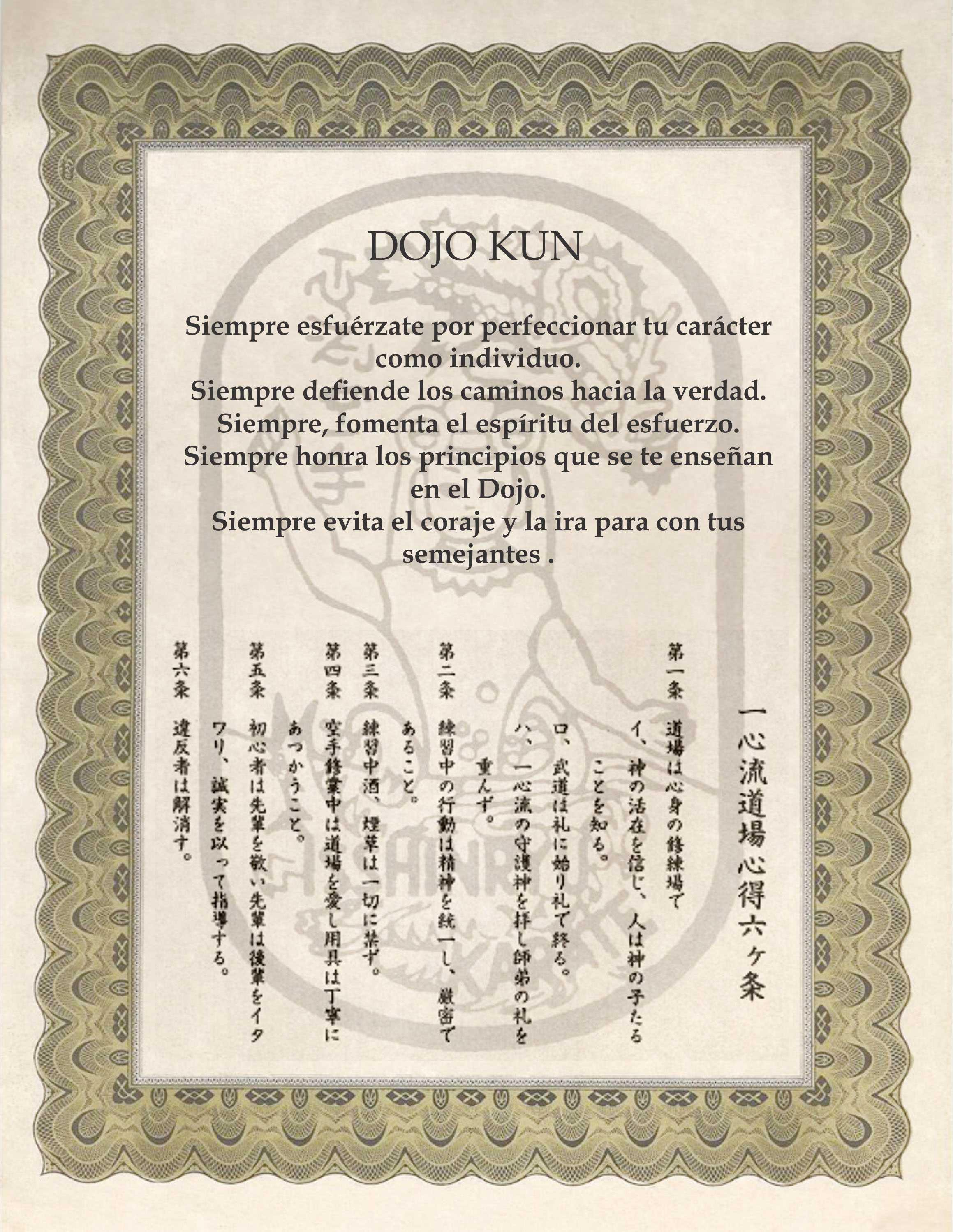 DOJO KUN como objeto inteligente-1